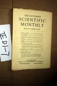 SCIENTIFIC MONTHLY 科学月刊1932年11月  多图片