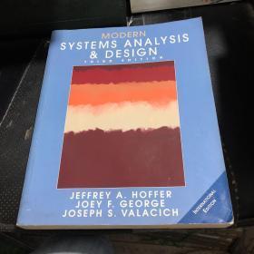 MODERN SYSTEMSANALYSISAND DESIGNT HIR DE DITION