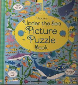 精装 under the sea picture puzzle book 海底图谜书