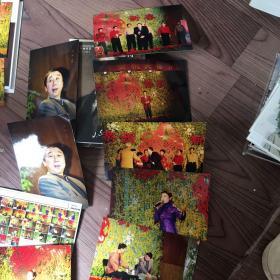 朱军冯巩春节晚会照片。