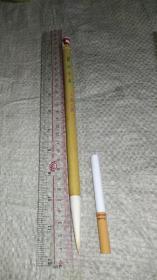 上海工艺,又《兰蕊羊毫》老毛笔。回流品旧货