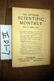 SCIENTIFIC MONTHLY 科学月刊1930年9月  多图片