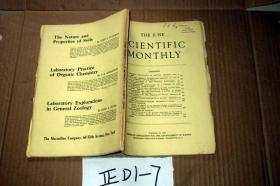 SCIENTIFIC MONTHLY 科学月刊1943年6月  多图片