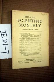 SCIENTIFIC MONTHLY 科学月刊1930年4月  多图片