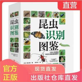 正版包邮 昆虫识别图鉴 1004种昆虫1600多张高清照片自然百科知识