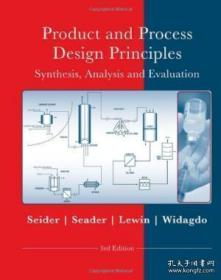 Product And Process Design Principles: Synthesis Analysis And Design
