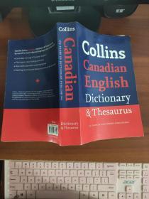 Collins English Dictionary & Thesaurus(英文原版)