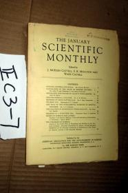 SCIENTIFIC MONTHLY 科学月刊1940年1月  多图片