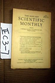 SCIENTIFIC MONTHLY 科学月刊1939年1月  多图片