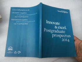 【英文书籍】Innovate&excel.Postgraduate prospectus2014