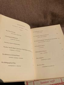 The Colophon New Series: Volume III Complete(书迷季刊新Colophon第三卷四册全,藏书名家云集,配插图,布面精装,老版书,好品相)