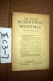 SCIENTIFIC MONTHLY 科学月刊1937年8月  多图片
