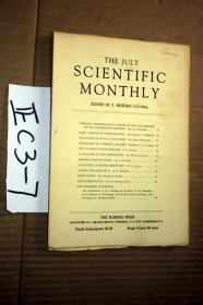 SCIENTIFIC MONTHLY 科学月刊1930年7月  多图片