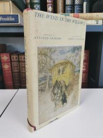 the wind in the willows 《柳林风声》Grahame 肯尼斯·格雷厄姆 Heritage Press 1940 年版 布面精装 Arthur Rackham 经典配图的经典版本,品相亦佳,阅读收藏佳品。
