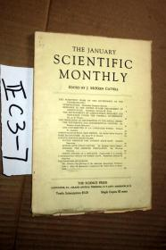 SCIENTIFIC MONTHLY 科学月刊1933年1月  多图片