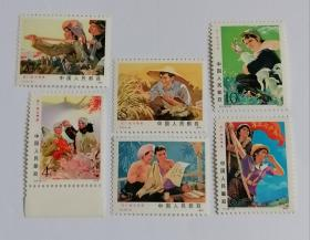 T17 在广阔天地里邮票