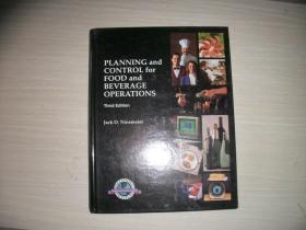 Planning and Control for Food and Beverage Operations:THIRD EDITION【大16开本精装本、108】计划和控制食品和饮料的运作 第三版 :酒店管理?