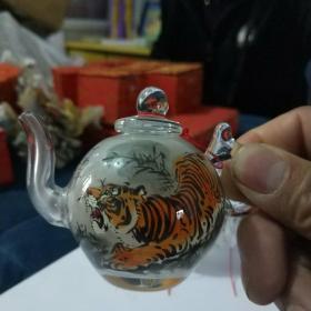 内画茶壶(老虎)
