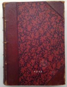 《亨利·朗费罗诗歌全集》1883年私人定制半皮装本Dalziel兄弟工作室插图本