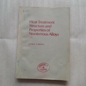 有色金属合金的热处理,组织和性能(英文版)