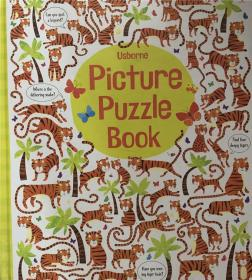 精装 Picture Puzzle Book 图片拼图册