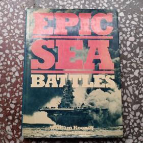 EPIC   SEA   BATTLES (英文原版书)16开精装