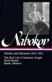 预售弗拉基米尔·纳博科夫 小说集Vladimir Nabokov: Novels and Memoirs 1941-1951