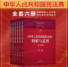 民法典2020年版最新版 中华人民共和国民法典释解与适用丛书共5卷 石宏 中国民法典解读释义物权法劳动法公司法合同编法律书籍全套