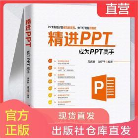精进PPT 成为PPT高手 ppt书籍 office教程书籍 计算机办公书籍