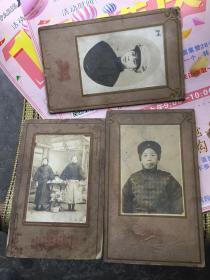 民国沈阳赵继年家族照片3帧