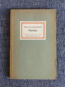 德国Insel-Bücherei系列丛书编号139 (哥特字体,不习惯的慎拍)