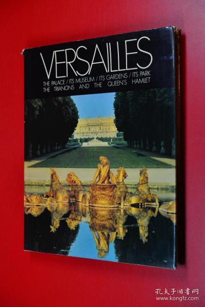 VERSAILLES 凡尔赛宫 英文原版 1978年版印