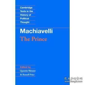 The Prince:Cambridge Texts in the History of Political Thought
