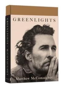 马修麦康纳自传 Greenlights 绿灯 Matthew McConaughey 英文原版
