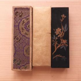 铁斋翁书画宝墨上海墨厂6-70年代初老2两72克油烟101墨锭N877