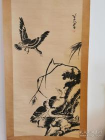 中国画一代宗师 八大山人 花鸟