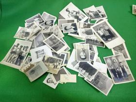 民国到50年代左右照片80张外加两包照片底片合售