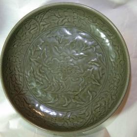 耀州窑大青瓷盘