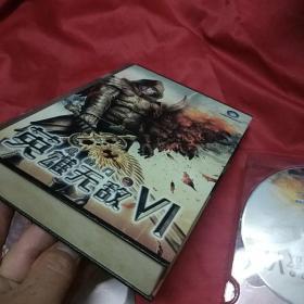 魔法门之英雄无敌Vl (游戏光盘。2DVD 金属盒子包装)
