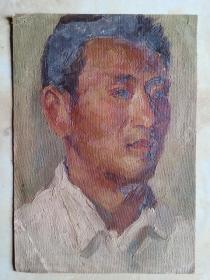 五六十年代老人物油画(西安美院流出).