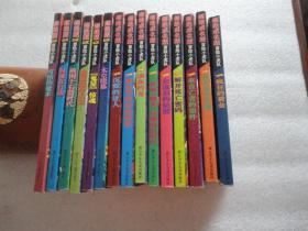 冒险小虎队: 超级版6册+超级成长版3册+6张解密卡 共15册【012】