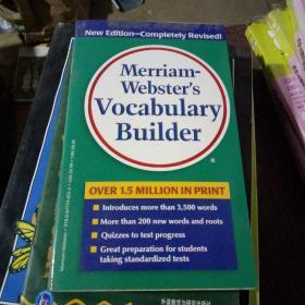 韦氏字根词根词典英文原版 Merriam Websters Vocabulary Builder 韦小绿英文版 搭单词的力量word power made easy英英字典