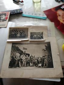 文革 红卫兵 等老照片3张合售,最大尺寸19.5×13,最小尺寸约8×6