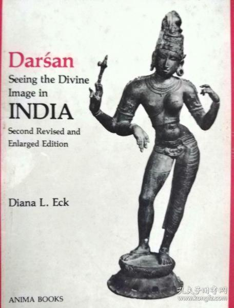 外文原版:Darśan:Seeing the Divine image in India