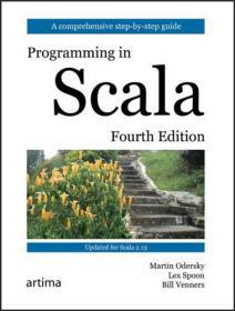 预订   Programming in Scala   英文原版 Scala编程 第4版 Martin Odersky(马丁.奥德斯基), Lex Spoon