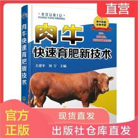 肉牛快速育肥新技术 养牛书 饲养技术指南 常见牛病诊断预防技术