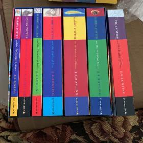 哈利波特 Harry potter英文原版 儿童版平装 六册带盒