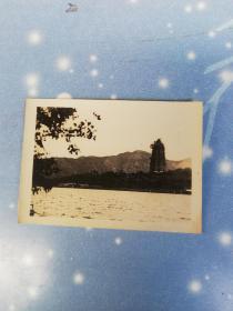 民国杭州照片    雷锋塔
