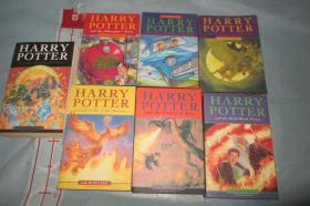 Harry Potter 哈利波特 一套7本合拍【英文原版 大32开如图】