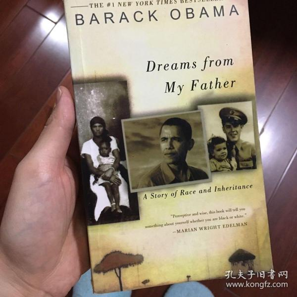 Dreams from My Father我父亲的梦想 英文原版